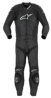 Alpinestars Stella Octane Leather Two 2 Piece Racing Track Motorbike Suit 50 18