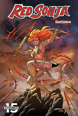 RED SONJA #1, COVER A CONNER, New, First print, Dynamite (2019)