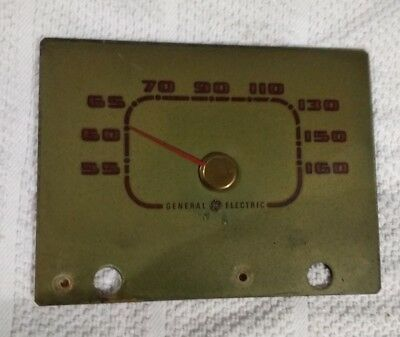 Tuning Dial and Indicator  From A 1950 General Electric Model 411 AM Radio