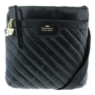 ae71c70da Juicy Couture Womens Between The Lines Quilted Crossbody Handbag Purse BHFO  3834