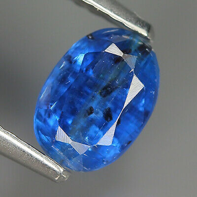 Catchy 1.22 Ct Natural Nepal Blue KYANITE Oval Gemstone @ See Video !!