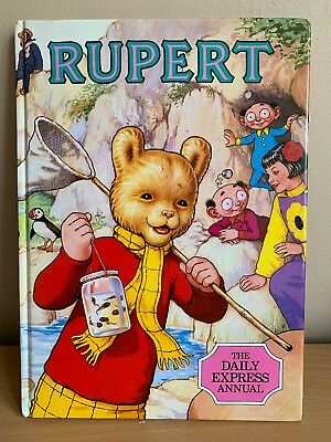 Rupert Annual- The Daily Express Annual 1986