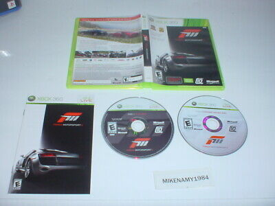 FORZA MOTORSPORT 3 game complete w/ manual for Microsoft XBOX 360