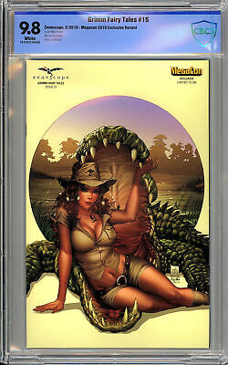 Grimm Fairy Tales Vol. 2 #15 - MegaCon Exclusive - RARE - CBCS 9.8!