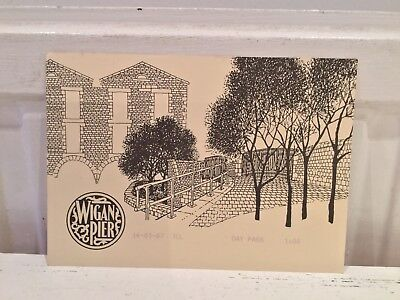 Vintage Wigan Pier Day Pass Dated 14-3-1987
