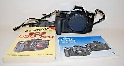 Canon EOS 650 Film Camera Body only - Spares and Repairs