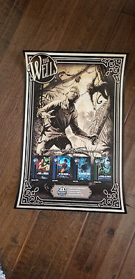 2018 Sdcc Comic Con Exclusive H G Wells The Strange Island Of Dr Moreau Poster