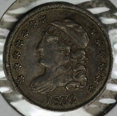 Nice 1832 Capped Bust half Dime - Solid Extra Fine Condition Coin