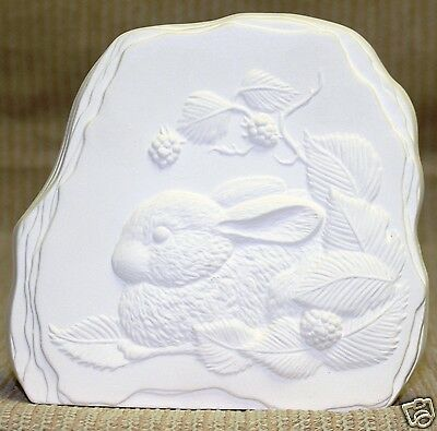 Ceramic Bisque Bunny Stone Kinzie Mold K3A U-Paint Ready To Paint 7 inch