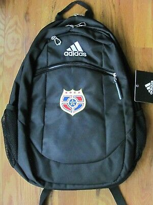 d9f69adfc47 adidas Striker II (2) Team Backpack Black with slightly off-centered logo  SOCA
