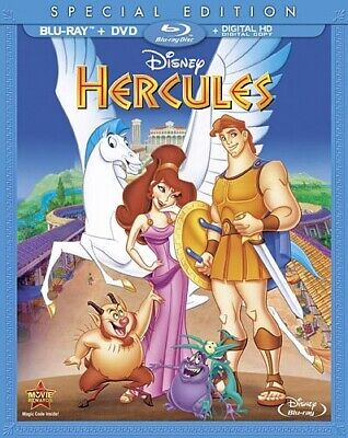 HERCULES New Sealed Blu-ray + DVD Special Edition Disney