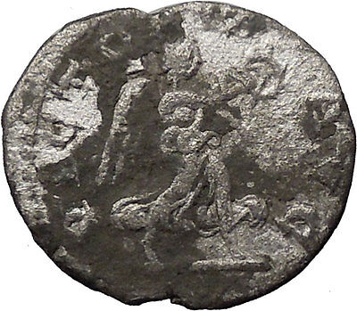 Severus Alexander Silver Ancient Roman Coin Victory over death Nike i30855