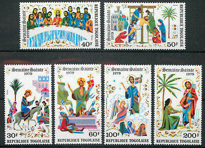 Togo 1979 Easter set SG 1342-1347 MNH unmounted mint *COMBINED SHIPPING*