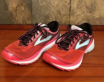 f900c063a2032 BROOKS GHOST 10 Road Running Shoe - Women s Size 7 B - Blue Pink ...