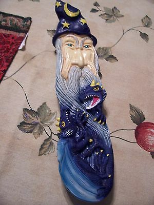 Wizard & Dragon Incense Burner New !