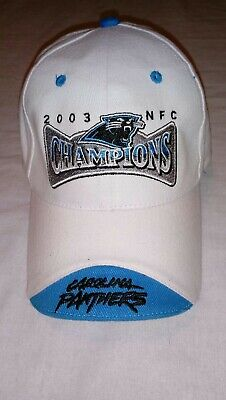 0c5a924dbcb70 ... new era nfl team color basic 9fifty snapback cap a64d6 28c23  germany  vintage carolina panthers 2003 nfc champions hat rare find first super bowl  yr ...