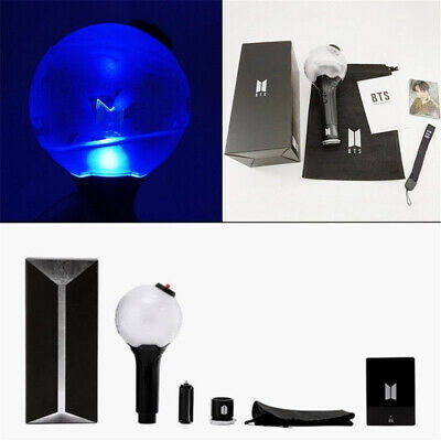 BTS - OFFICIAL LIGHT STICK ARMY BOMB VER 3 + 7 PRE-ORDER PHOTOS Gift