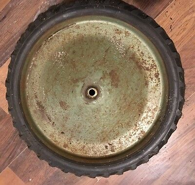 VERY COOL!! -  OLD VINTAGE WAGON     Pedal Tractor WHEEL