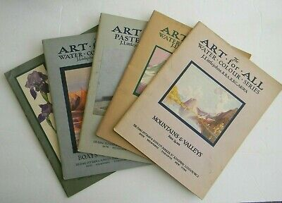 Vintage The Art for All Series (5-books) Undated-1930's