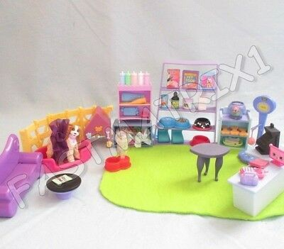 Littlest Pet Shop Lot of 15 Random Lps Supplies Store Boarding Nice Accessories