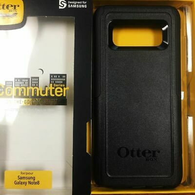 NEW Otterbox Commuter Case for Samsung Galaxy Note 8 - BLACK
