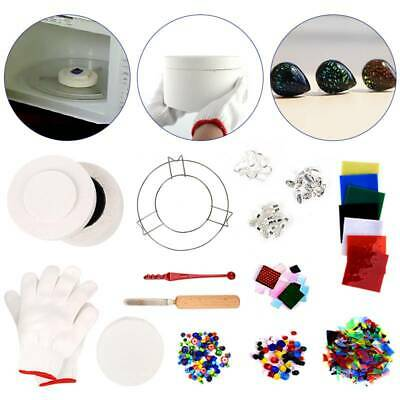 UK 14X Large Stained Glass Fusing Supplies Professional Microwave Kiln Kit Tool