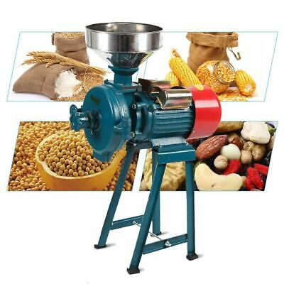 Electric Grain Mill Grinder Machine Dry Herb Wheat Feed Corn Coffee Cereal 110V