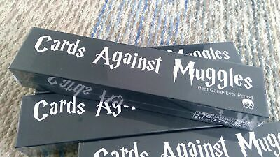 New Sealed Cards Against Muggles 1440 Cards HARRY POTTER Limited Edition