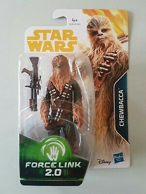 Star Wars Figurine Chewbacca Série Force Link 2.0 Sous Blister Neuf