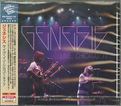 Genesis-Live In Chicago 1977-Import 2 Cd With Japan Obi G27