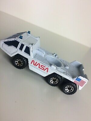 Matchbox Transporter Vehicle 1:150 1985 NASA Rocket Launcher Raketen Start Auto