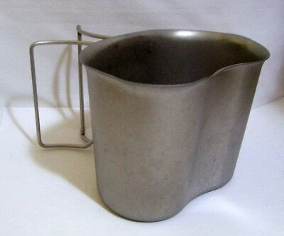 US GI Stainless Steel Military Canteen Cup New
