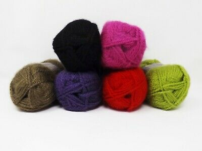 Lion Brand Jiffy ROSE SPRAY Yarn--5//FIVE Skeins