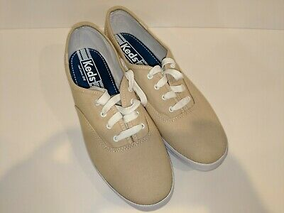 40dfae7a82b Keds champion Oxford canvas shoes beige women s size 9 brand new never worn