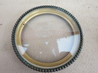 Antique French Clock Bezel And Glass