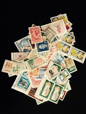 NEED POSTAGE? CANADA 5$ face value. 100x 5c FULL GUM LEGAL FOR POSTAGE