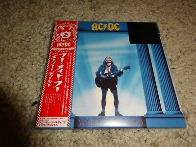 Ac/dc 'who Made Who' *japan 2008 New/sealed/limited Mini-Lp Cd*