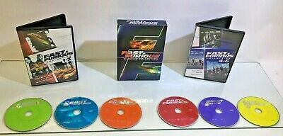 Fast  Furious: 6 Movie Collection (DVD, 2014, 6-Disc Set) Fast Free Shipping