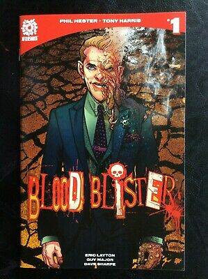 Blood Blister 1 2  (Aftershock, 2017) NM ~ Phil Hester Tony Harris ~