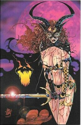 Tarot: Witch of the Black Rose #9 Lim # 2/15 Reissue Pearl Cvr Edit Signed NM