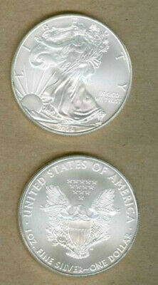 2009 Silver American Eagle BU 1 oz Coin US $1 Dollar Uncirculated Brilliant