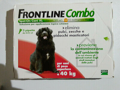 Frontline Combo Per Cani Xl ( 40-60 Kg. )
