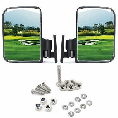 Golf Cart Side Mirrors Rear View Mirror Fits Club Car EZ-GO Yamaha and Others