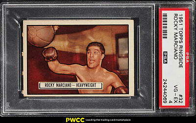 1951 Topps Ringside Rocky Marciano ROOKIE RC #32 PSA 4 VGEX (PWCC)