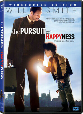 THE PURSUIT OF HAPPYNESS (DVD, 2007, Widescreen) New / Sealed / Free Shipping