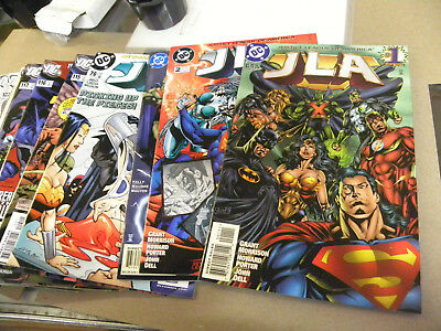 DC 1`998 19 issues JLA #1 to #125 w 80 Page Giant Annual Specials More reg $50 q