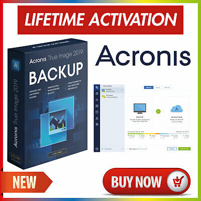 Acronis True Image 2019✔Download✔unlimited Devices✔Lifetime License✔PreActivated