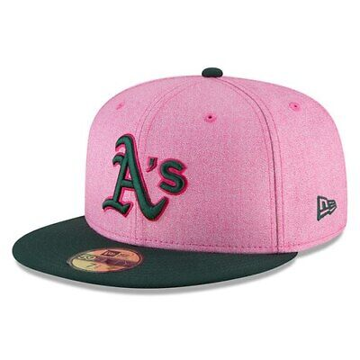 save off e5c75 a49cf Oakland Athletics New Era 2018 Mother s Day On-Field 59FIFTY Fitted Hat -