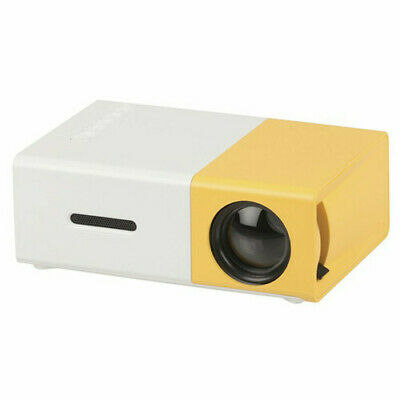 Virtually Universal Portable Rechargeable LED Projector w/ HDMI, MicroSD & USB