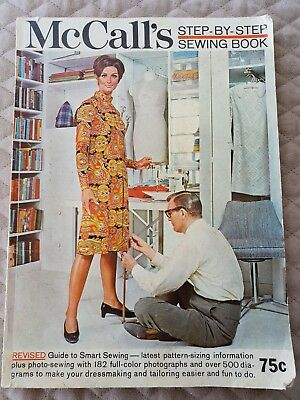 Vintage Mccall's Sewing Book (Magazine) 1967